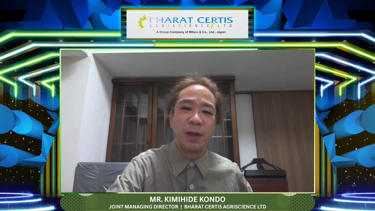 Mr Kimihide Kondo_Mr. Dharmesh Gupta_Bharat Certis AgriScience Ltd.