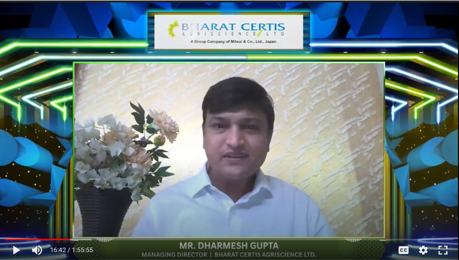Mr. Dharmesh Gupta_Bharat Certis AgriScience Ltd.(
