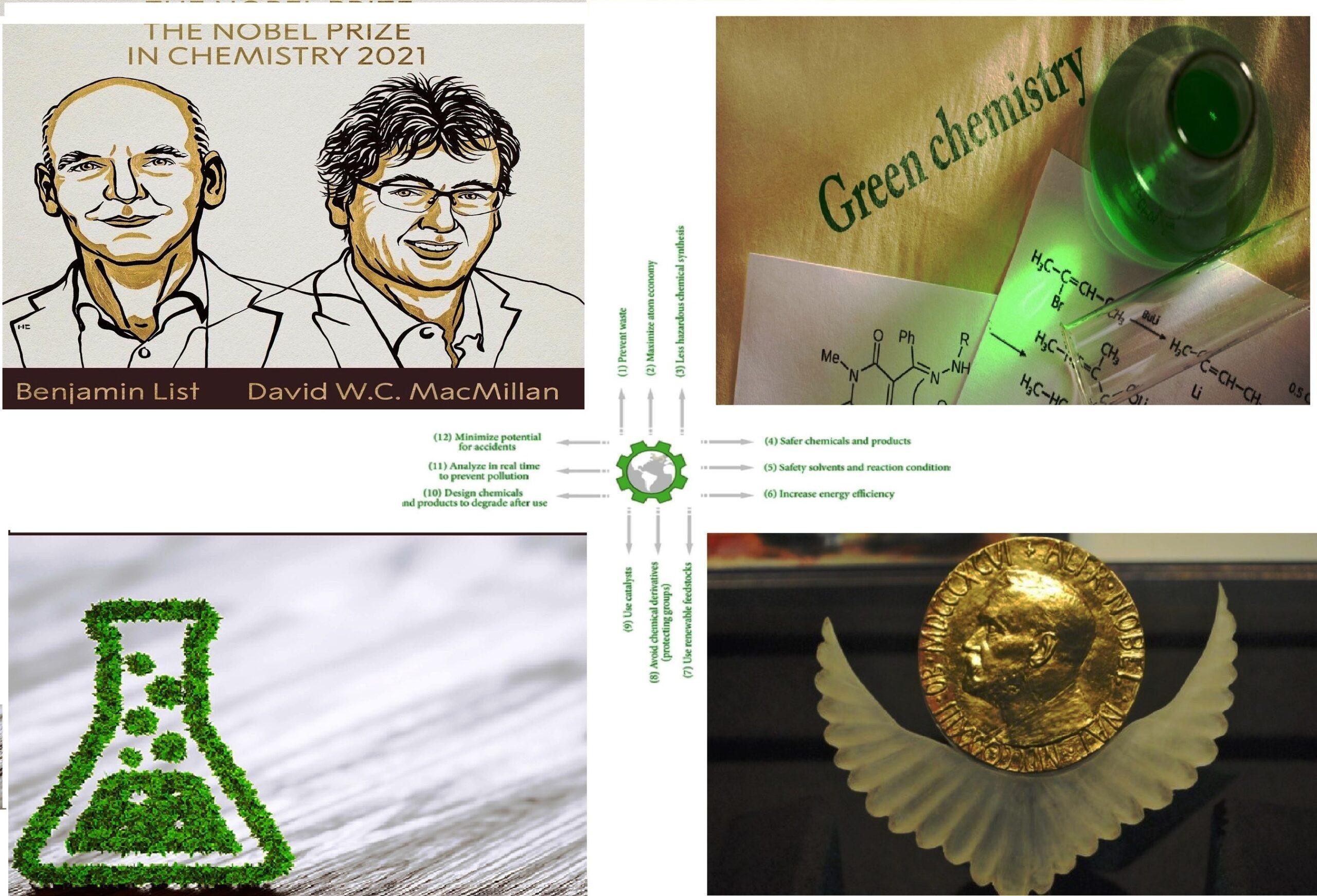 David MacMillan and Benjamin List win Chemistry Nobel