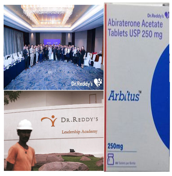 Dr.Reddy`s, Albiratoneacetate, Generic, Hyderabad, Indian, Pharmaceuticals, Anticancer, drug, China, Zytiga, FDA, Prostatecancer, Essential, safest, Mosteffective